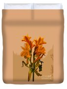 Digital Painting Lily Like Duvet Cover