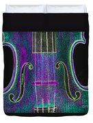 Digital Photograph Of A Viola Violin Middle 3374.03 Duvet Cover