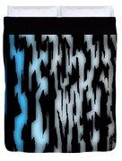 Digital Zebra Coat Duvet Cover