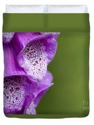 Digitalis Abstract Duvet Cover