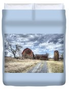 Dilapidated Barn Duvet Cover