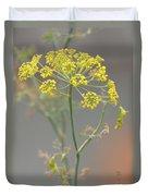 Dill Blossom Duvet Cover