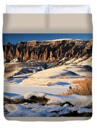 Dillon Pinnacles Sunset Duvet Cover