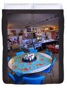 Diner On Route 66 Duvet Cover