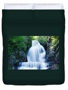 Dingmans Ferry Falls Duvet Cover