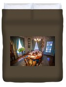 Dining Room And Dinner Table Duvet Cover