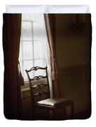 Dining Room Window Duvet Cover