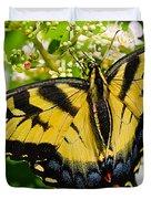 Dinner For The Swallowtail Duvet Cover