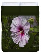 Dinner Plate Hibiscus Duvet Cover