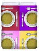 Dinner Setting Combo 04 Duvet Cover