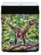 Dino In The Bronx One Duvet Cover