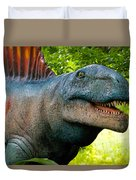 Dino In The Bronx Two Duvet Cover