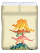 Dinosaur Antics Duvet Cover