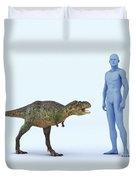 Dinosaur Aucasaurus Duvet Cover