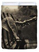 Dinosaur Bones 2 Duvet Cover