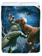 Dinosaur Canyon Duvet Cover