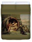 Diogenes Duvet Cover