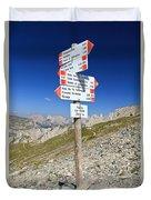 Directions Duvet Cover