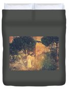 Dirge For November Duvet Cover by Taylan Apukovska