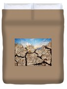 Dirt And Sky Duvet Cover