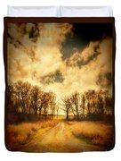 Dirt Road Duvet Cover