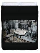 Dirty Bathroom Duvet Cover