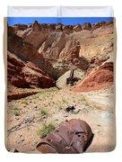 Dirty Devil Mine San Rafael Swell - Utah Duvet Cover