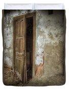 Dirty Door Duvet Cover