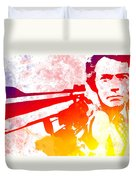 Dirty Harry Duvet Cover