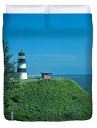 Disappointment Lighthouse In Washington State Duvet Cover