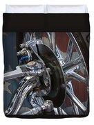 Disc Brakes Hot Rod Duvet Cover
