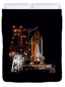 Discovery Space Shuttle Duvet Cover