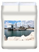 Discovery World Milwaukee Wisconsin Duvet Cover