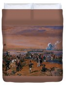 Disembarkation - Kerch, 24 May 1855 Duvet Cover