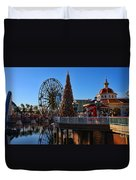 Disney California Adventure Christmas Duvet Cover