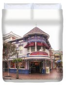 Disney Clothiers Main Street Disneyland 02 Duvet Cover