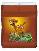 Disney Floral 03 Bambi Duvet Cover