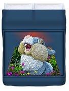 Disney Floral 05 Thumper Blue Duvet Cover