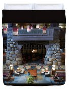 Disneyland Grand Californian Hotel Fireplace 01 Duvet Cover