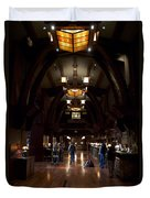 Disneyland Grand Californian Hotel Front Desk 01 Duvet Cover