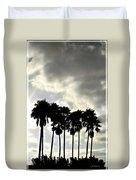 Disney's Epcot Palm Trees Duvet Cover