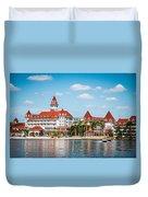 Disney's Grand Floridian Resort And Spa Duvet Cover