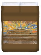 Display Hall At Apollo Sanctuary  Duvet Cover