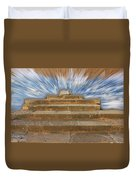Display Hall At Temple Of Apollo Hylates Duvet Cover