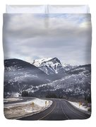 Distance Is Near Duvet Cover