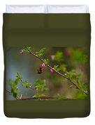 Distant Hummingbird Duvet Cover