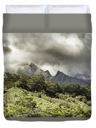 Distant Mountains Duvet Cover