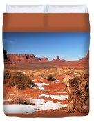 Distant Towers Duvet Cover