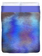 Distorted Waters Duvet Cover