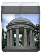 District Of Columbia War Memorial Duvet Cover